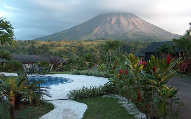 Costa Rica vulkáni régió