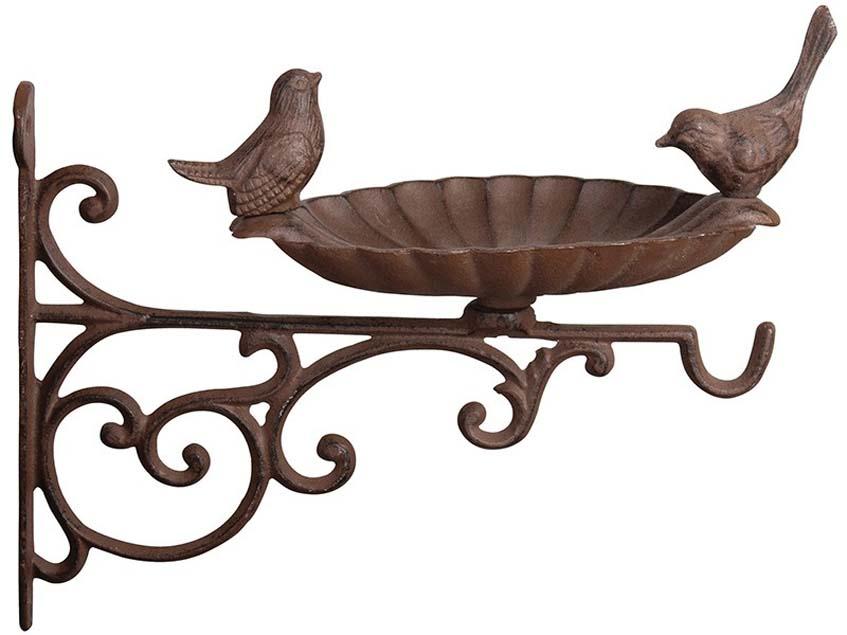 Fali konzolos öntöttvas madáretető vagy madáritató