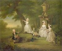 Hogarth: Gyermek tea délután