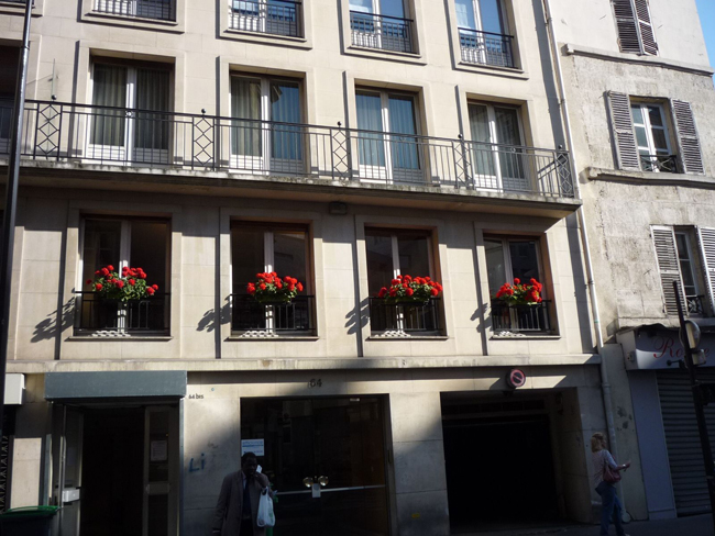 muskátlis francia ablak