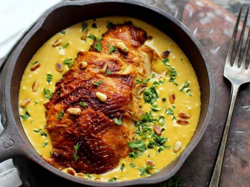 aji szósz sült csirkével