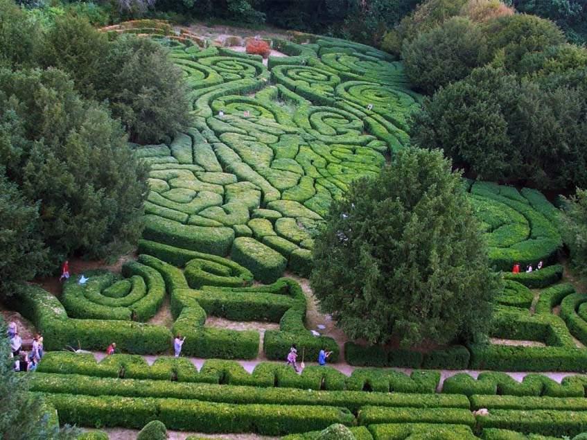 Andrássy kastélypark labirintusa
