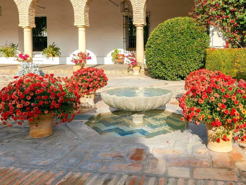 belső udvar, Cordoba