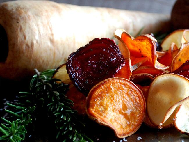 zöldség chipsek
