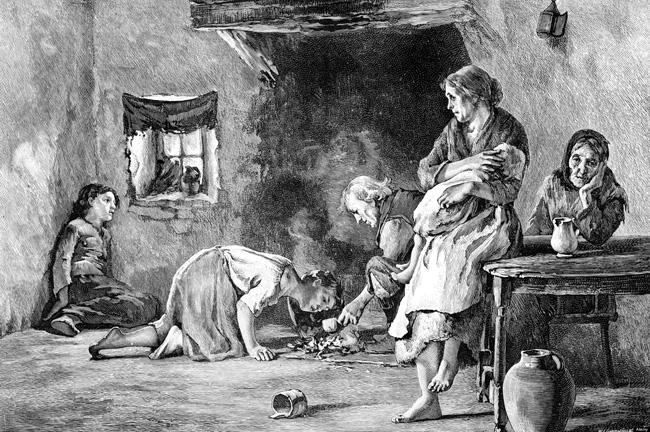 ír éhínség 1845-1849
