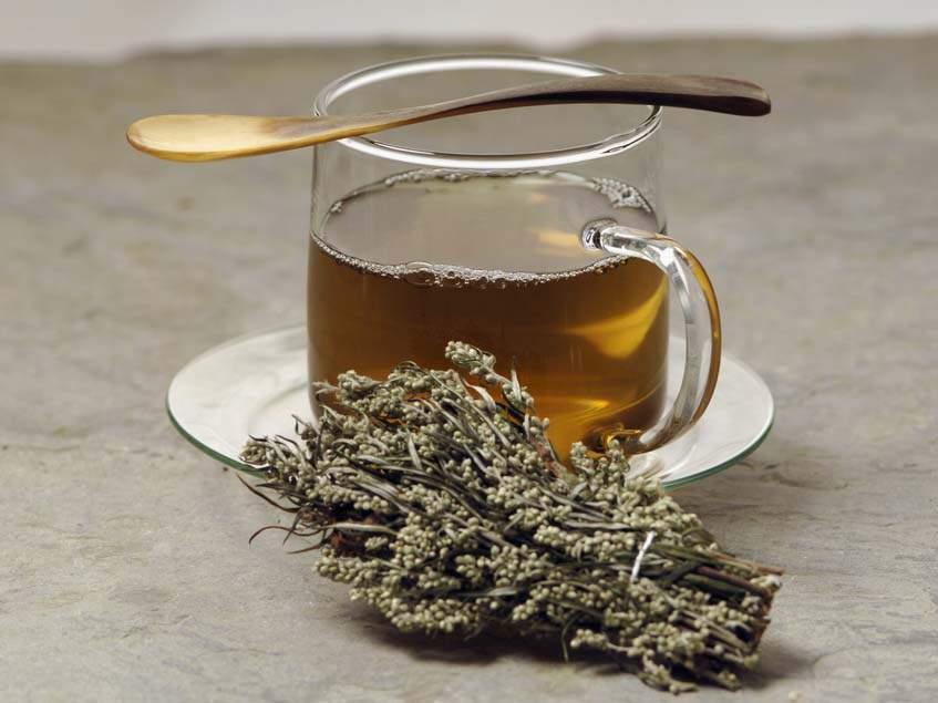 fekete üröm tea