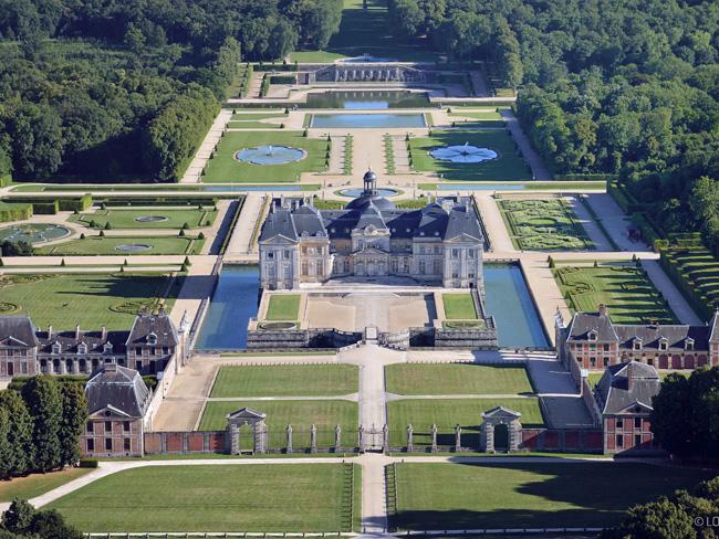 Fouquet Vaux le Vicomte kastélypark