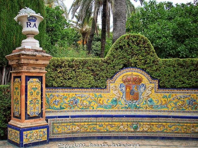 királyi kertek Sevilla