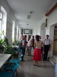 látogatás a farmakognózia intézetben