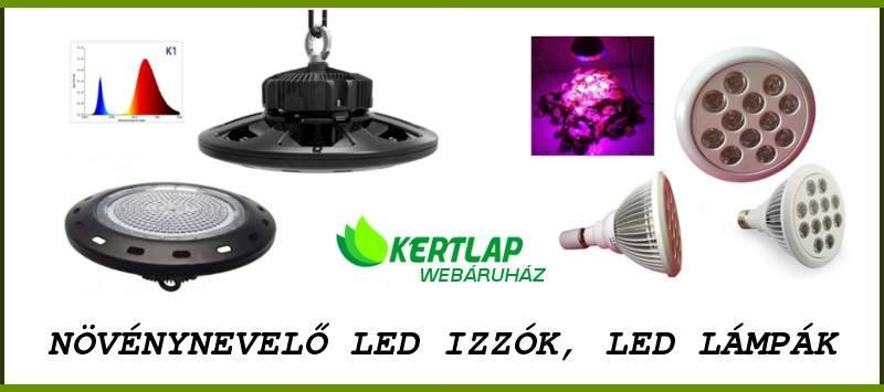 Profi, teljes spektrumú növénynevelő LED izzó (UFO), E27