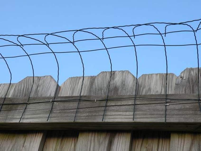 macskabiztos kerítés