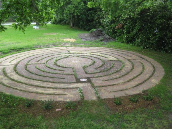 meditációs labirintus